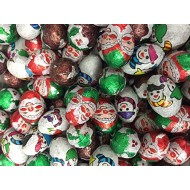 Christmas Foiled Chocolates Santa & Snowmen Pick n Mix 1kg BAGS  FREE POSTAGE