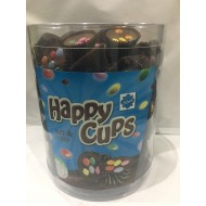 Happy Cups WITH Milk Chocolate Dragees FULL TUB 120 PCS