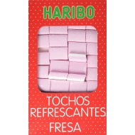 Haribo Bulk Tochos Strawberry Icing Squares Bricks (200 Piece)
