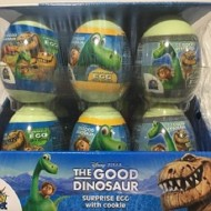 Disney Pixar the Good Dinosaur Surprise Eggs WITH COOKIE TOY 18 PIECES