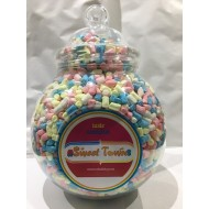 GIFT JARS  VICTORIAN LARGE  MARSHMALLOWS MICRO 1KG jar SWEETZONE 100% HALAL