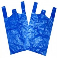 Jumbo Plastic BAGS STRONG XL VEST CARRIER BAGS 13''X19''X24  200 PCS