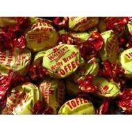 WALKERS NUTTY BRAZIL TOFFEES Loose - Traditional Sweets 1kg  FREE POSTAGE