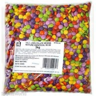 Milk Chocolate Beans Retro Classic Sweets 3kg Suitable for Vegetarians
