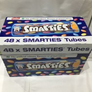 Nestle Smarties TUBES 38G FULL BOX 48 TUBES
