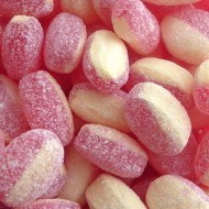 Tilley's STRAWBERRY & CREAM fruit flavour BOILED SWEETS 500G FREE POSTAGE
