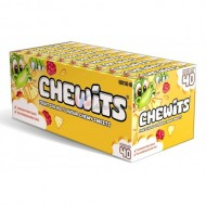 CHEWITS FRUIT SALAD FLAVOUR CHEWY SWEETS pack of 40