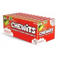 Chewits Strawberry Flavour Chewy Sweets pack of 40