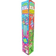 Crazy Candy Factory Xxl Sherbet Straws 60 In Each Box Vegetarian