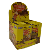 Chocolate Popping Candy 40 Pcs Halal