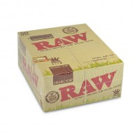 Raw Rolling Paper- Organic Hemp King Size Slim 50 Books