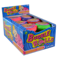 Bubble Rolls Gum 24 Pcs