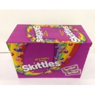 Skittles Sweets Choose Flavour Wildberry Crazy Sour Of 55g 36 Packets