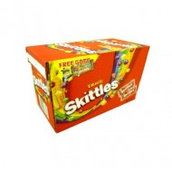 Skittles Fruits & Crazy Sours Of 55g Packets 36