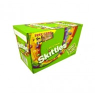 Skittles Sours Crazy Cores Of 55g Packets 36