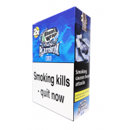 Blunt Wrap Double Platinum Blunts Blue 25 x 2 Packs