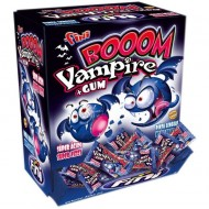 FINI BOOM VAMPIRE GUM SUPER SOUR MOUTH PAINTER PACK OF 200