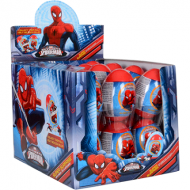 SPIDERMAN SUPER SURPRISE EGG  10GR 18 PIECE BOX