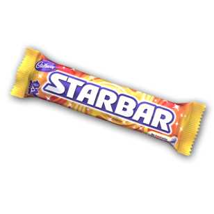 Cadbury Star Bar 49g Box Of 32