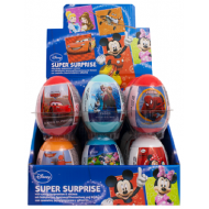 DISNEY MIX SUPER SURPRISE EGGS  FULL BOX 18