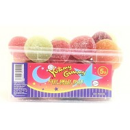 YUMMY GUMMY Fizzy Smiley Face HALAL x 120 pieces