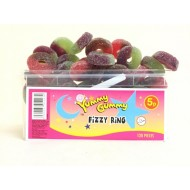 YUMMY GUMMY Giant Fizzy Ring HALAL x 120 pieces