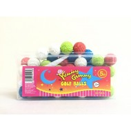 YUMMY GUMMY GOLF BALLS  HALAL TUB 120 PIECES