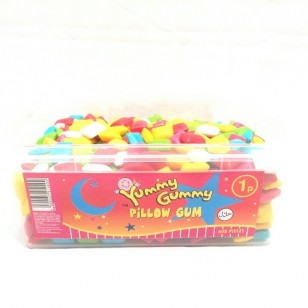 YUMMY GUMMY Pillow Bubble Gum HALAL x 600 pieces