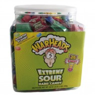 Warheads Extreme Sour Hard Candy Tub (240pcs)