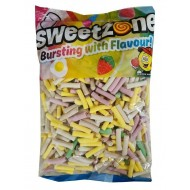 Sweetzone Rhubarb & Custard Pencils Halal Hmc Party 1kg