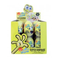 Spongebob Super Surprise Egg Box Of 24 Units.