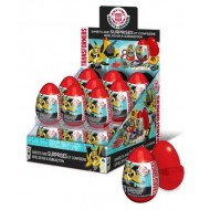TRANSFORMERS SWEETS AND SURPRISE EGGS - 18 COUNT