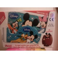 Zaini Disney Mickey Mouse Chocolate Surprise Eggs With A 3d 24 Pieces Full Box