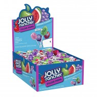 Jolly Rancher Filled Candy Lollipops,15g Assorted Flavors, 100 Count