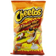 Cheetos Flamin Hot Crunchy Large 226 Gm Pack Of 10 American Wholesale