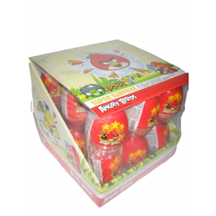 ANGRY BIRDS SUPER Surprise Egg Display (Pack of 18) 10G What Next Candy