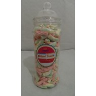 Giant Gift Jars Of Retro Sweets - Victorian Jars Assorted Mallow Big Jar