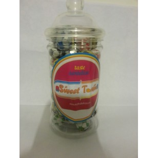 Gift Jars Of Retro Sweets - Victorian Jars Chocolate Footballs