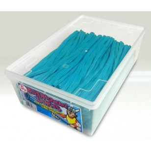 Blue Raspberry Flavour Candy Lances 200 Pcs Full Tub Suitable For Vegetarians