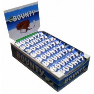 Bounty Milk Chocolate Twin Bar Box Of 24