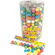 Bubblegum Strips Contents 40 Packs