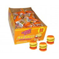 Gummy Mini Cheese Burgers: 60-piece Box