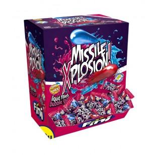 Fini Missile Xplosion! Liquid Filled Bubble Gum 200 Pcs