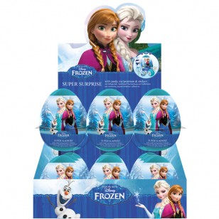 DISNEY FROZEN SUPER SURPRISE EGGS 18 x FULL BOX