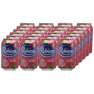 Rubicon Sparkling Guava Juice Drink Cans, 330 Ml, Pack Of 24