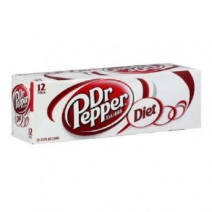Dr Pepper Diet 355 Ml (Pack Of 12) Usa