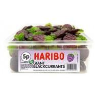 Haribo Giant Blackcurrants - 120 Pack