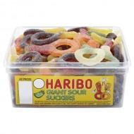 Haribo Giant Plain Suckers 60 Pieces