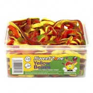 Sweetzone 100% Halal Jelly Sweets - Yellow Bellies Tub Of 60pcs