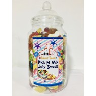 Sweets Jelly Jar Pick N Mix Jelly Jar Big Sweets Weddings, Parties And 2.5kg
